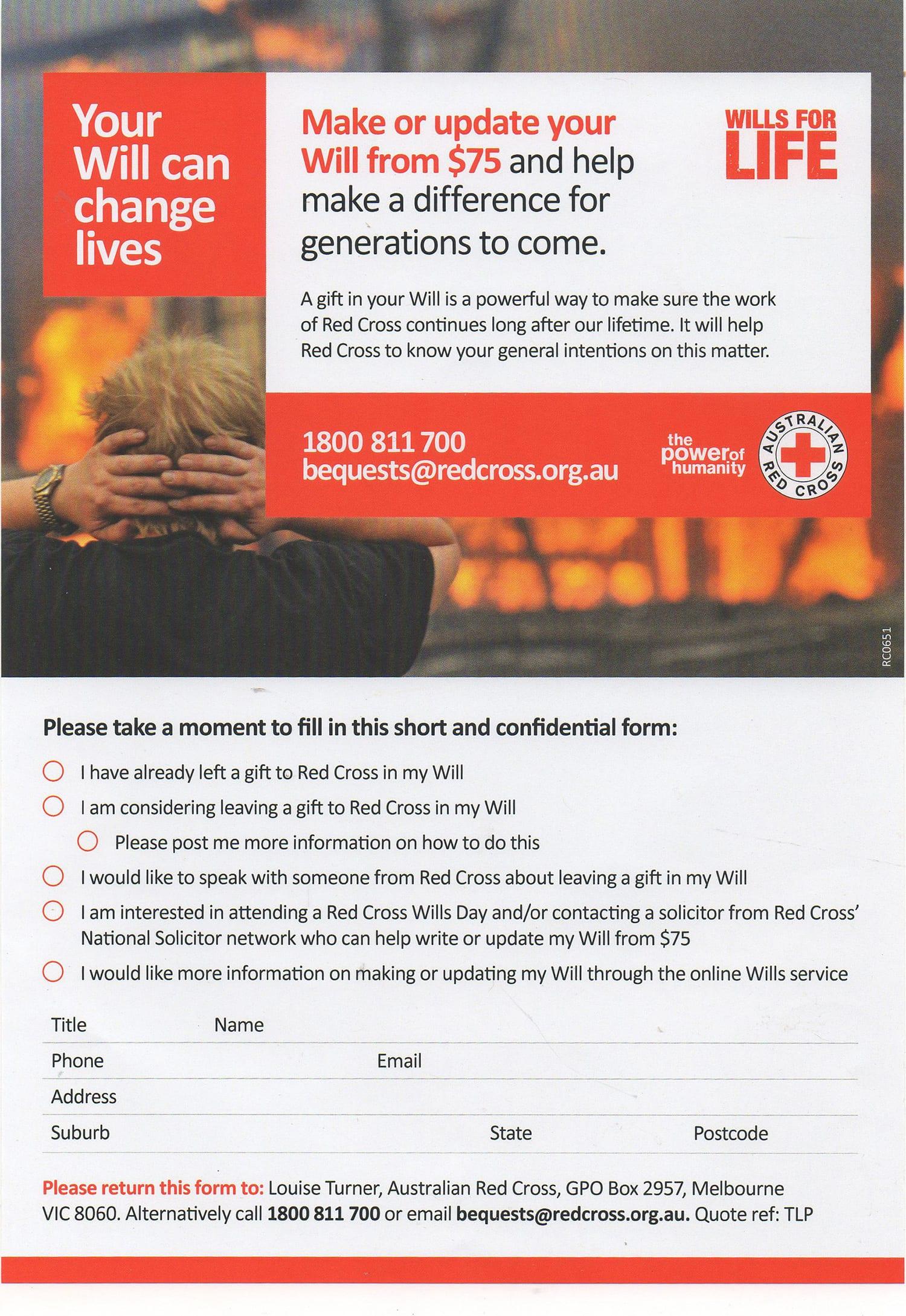 Australian Red Cross | The Last Post Magazine