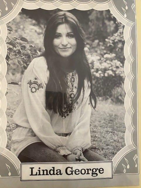 Singer Linda George