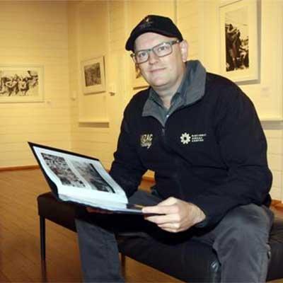 David Theodore curator National Anzac Centre Albany