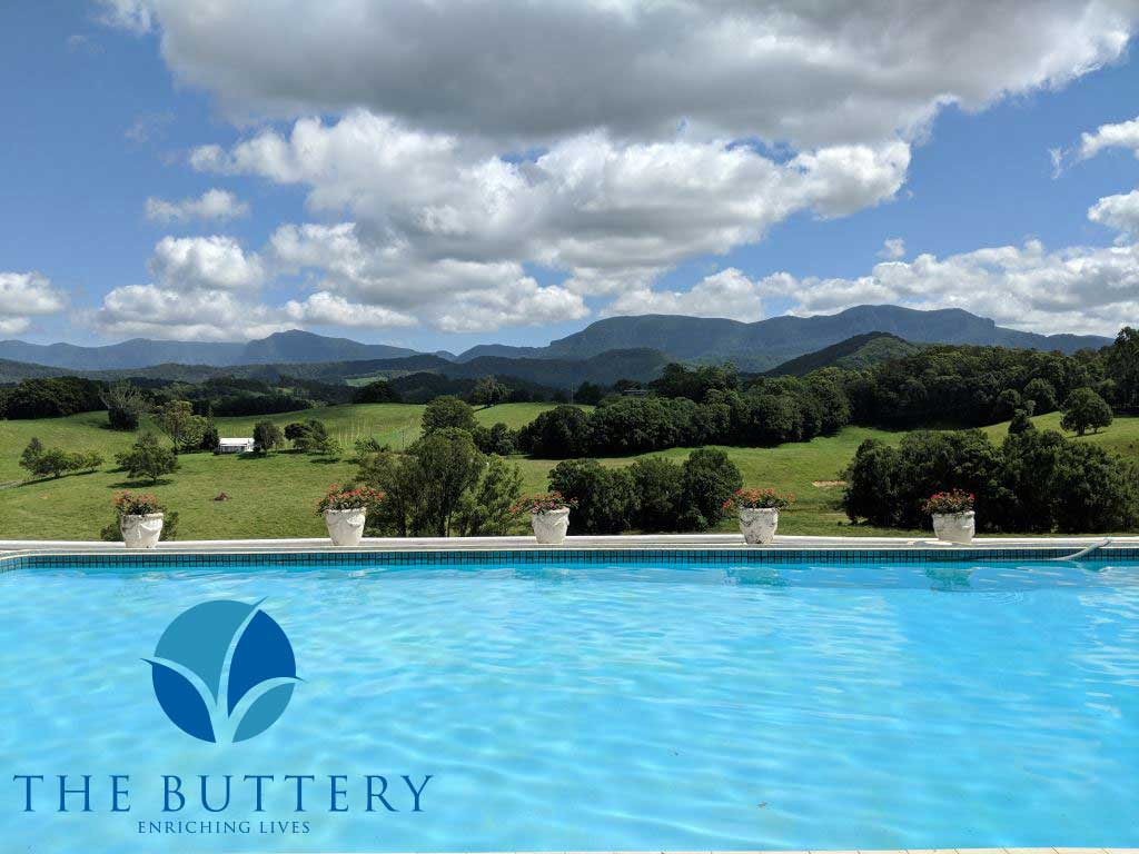 The Buttery, COPE Veterans Recovery Program, pool setting