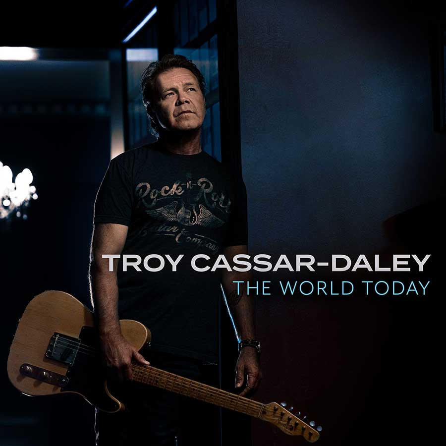 Troy Cassar-Daley album, The World Today