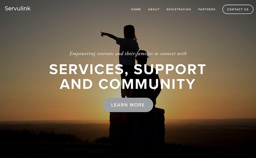 Servulink website